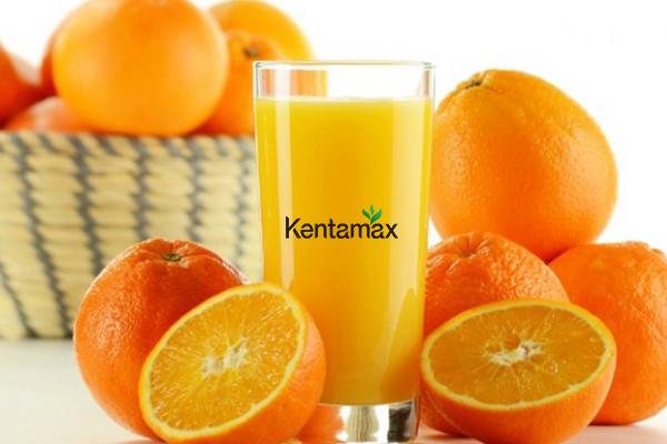 Tăng cân hiệu quả với nước ép cam