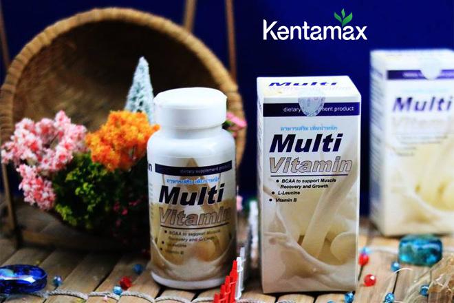 Multi vitamin của Thái Lan cung cấp nhiều chất bổ