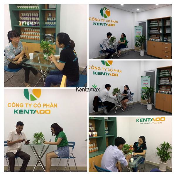 Rất nhiều khách hàng đến Kentado để được tư vấn về cách tăng cân hiệu quả