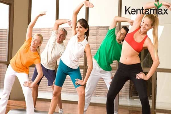 Luyện tập thể dục thể thao giúp tăng cân và săn chắc cơ thể