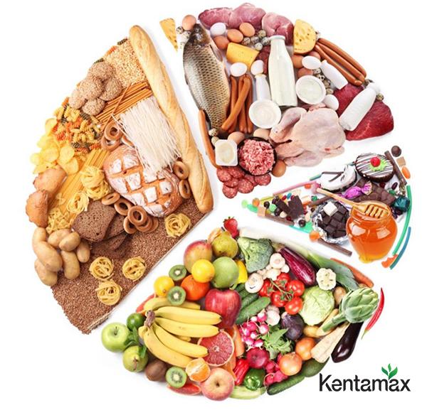 Đảm bảo ăn đủ 4 nhóm chất: Đạm, tinh bột, béo, vitamin và khoáng chất