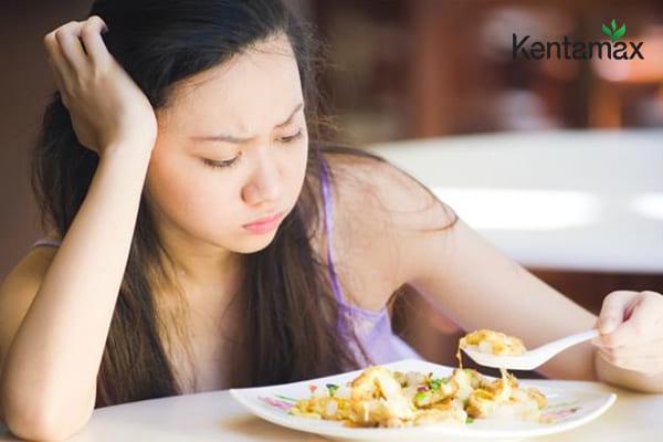 Chán ăn do món ăn không hấp dẫn