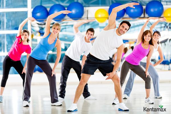 Luyện tập thể thao thường xuyên để hỗ trợ tăng cân nhanh