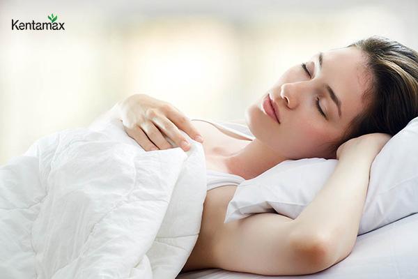 Đảm bảo ngủ đủ giấc mỗi ngày