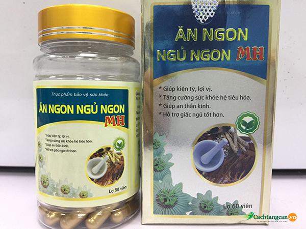 Thuốc tăng cân Mộc Hoa Đường hay còn có tên gọi khác là ăn ngon, ngủ ngon MH