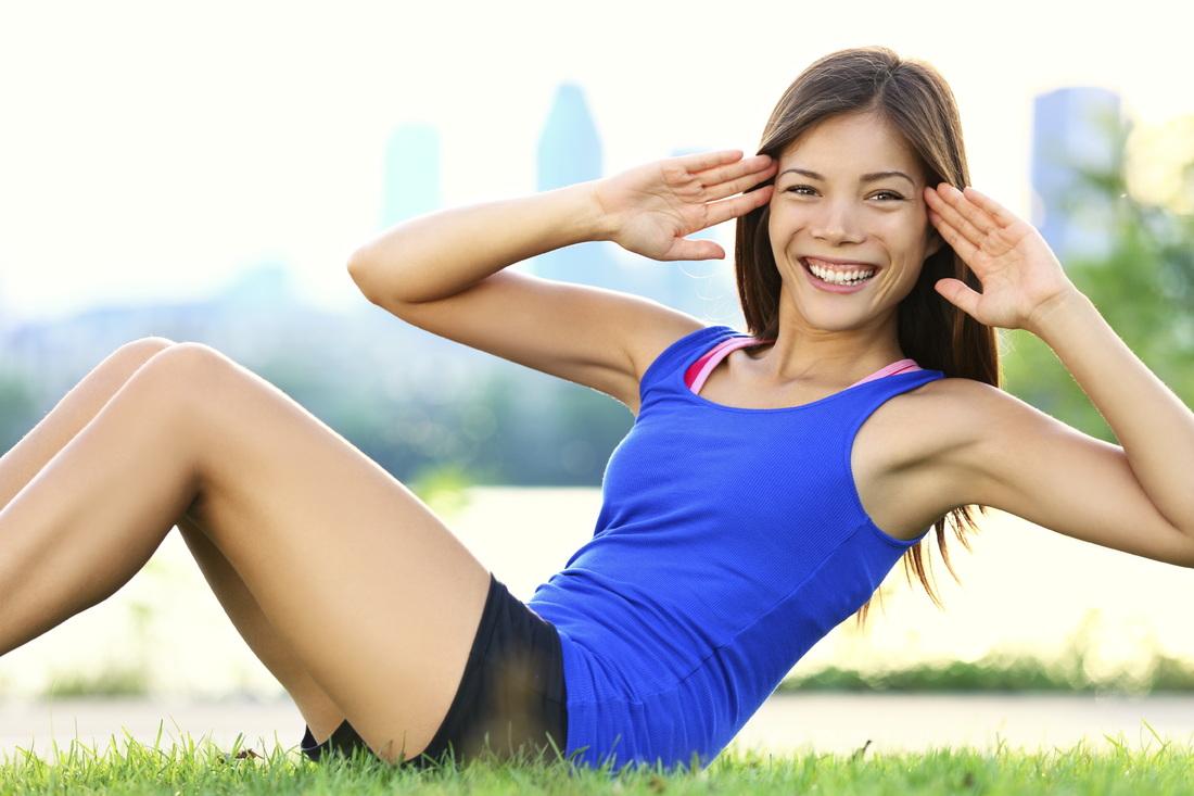 Tăng cân cho nữ bằng cách luyện tập thể dục