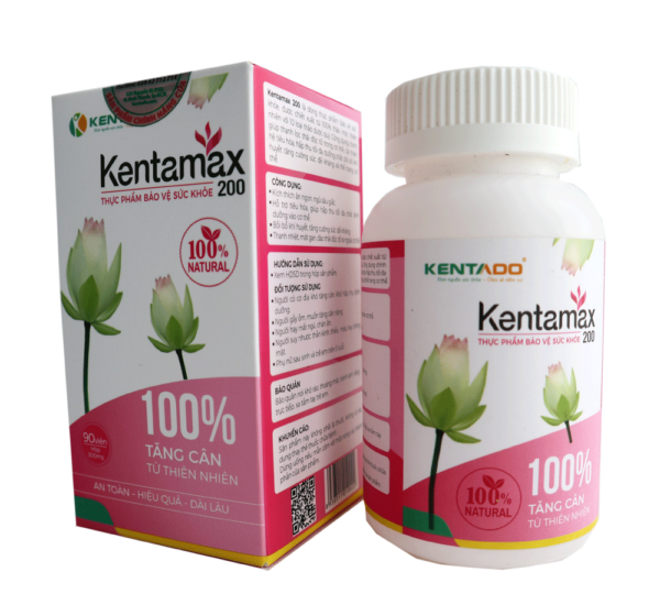 Kentamax 200 - Hỗ trợ tăng cân cho phụ nữ sau sinh