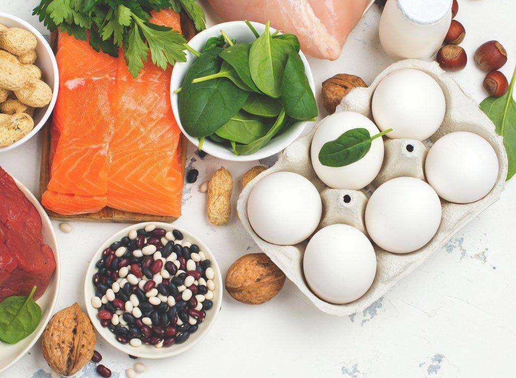 Đạm là nhóm thực phẩm thiết yếu trong thực đơn tăng cân hiệu quả
