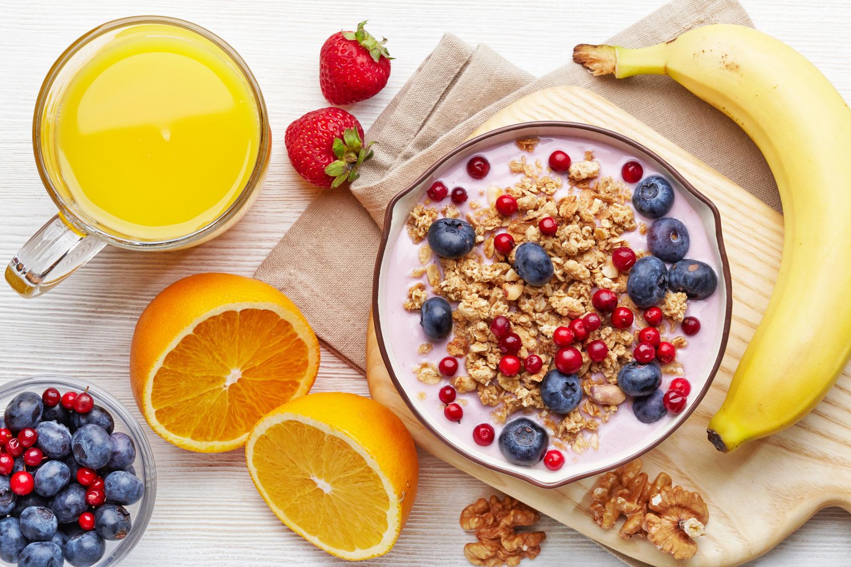 Kiên trì áp dụng thực đơn để tăng cân mỗi ngày
