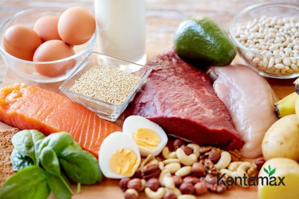 Đảm bảo đủ chất dinh dưỡng giúp bạn tăng cân hiệu quả