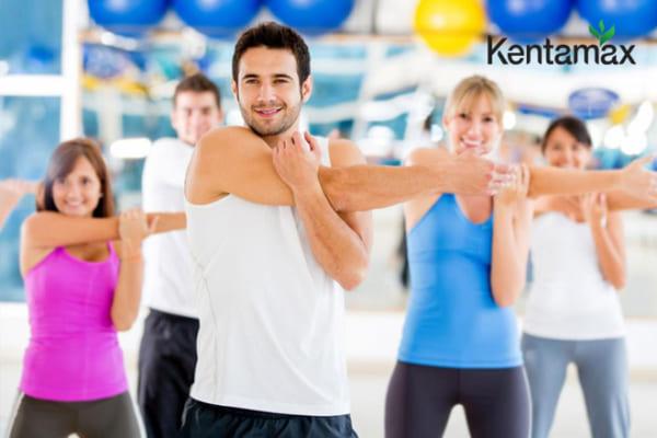 Luyện tập thể dục thể thao đều đặn để hỗ trợ tăng cân hiệu quả