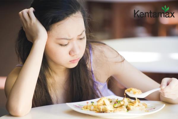 Biếng ăn, ăn không đủ chất là nguyên nhân khiến bạn không thể tăng cân