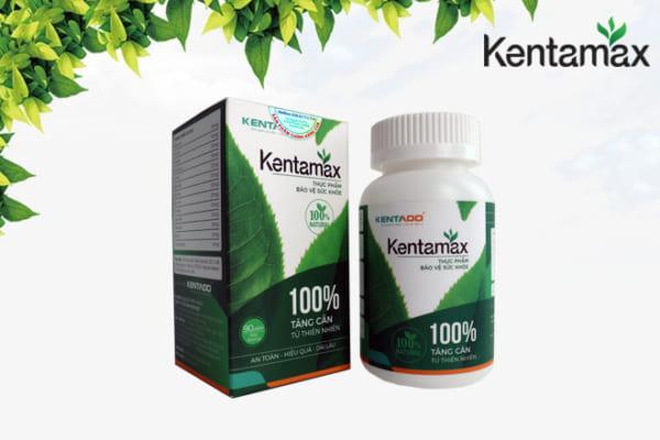 Sử dụng sản phẩm hỗ trợ tăng cân Kentamax