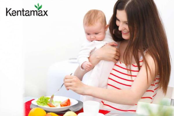 Cung cấp đủ dinh dưỡng sau sinh để tăng cân hiệu quả