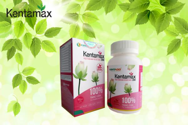 Sản phẩm hỗ trợ tăng cân cho phụ nữ sau sinh Kentamax 200