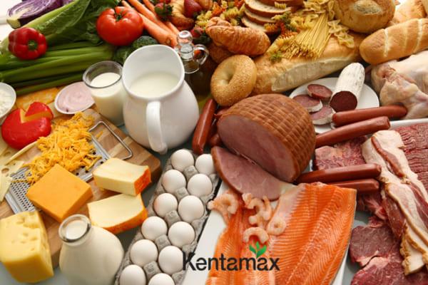 Đảm bảo khẩu phần ăn đầy đủ chất dinh dưỡng giúp bạn tăng cân hiệu quả
