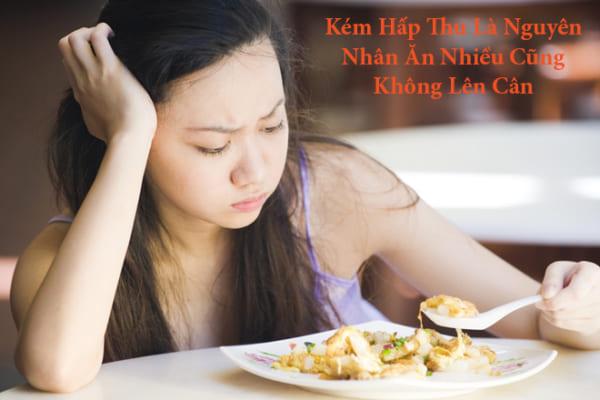 Kém hấp thu là nguyên nhân khiến người gầy ăn mãi không thể lên cân