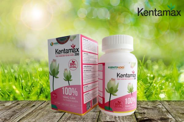 Kentamax sản phẩm hỗ trợ tăng cân hiệu quả cho phụ nữ sau sinh
