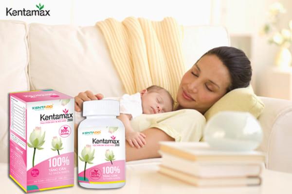 Vì sao Kentamax giúp tăng cân hiệu quả cho phụ nữ sau sinh