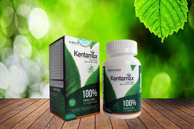 Viên uống tăng cân Kentamax có phải chiết xuất từ 100% thảo dược không?