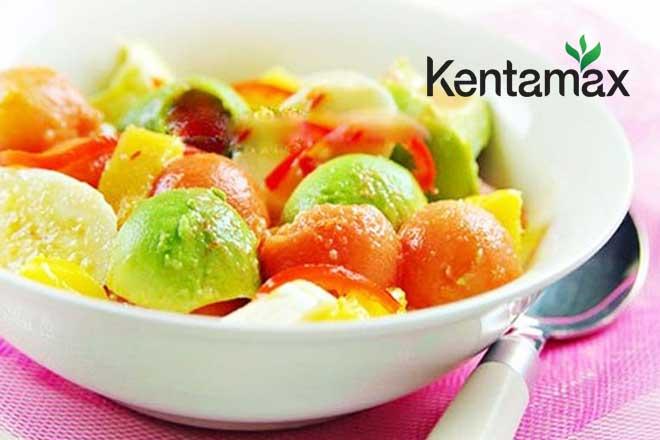 Bơ dằm trái cây thơm ngon bổ dưỡng