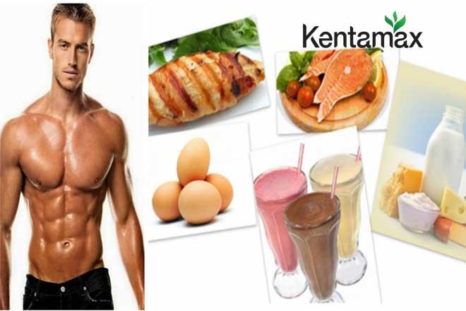 Ăn uống dinh dưỡng kết hợp với tập gym tăng cân