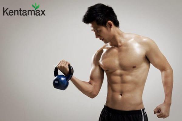 Tập gym là phương pháp tăng cân cho nam gầy hiệu quả đến 90%