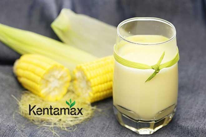 Uống sữa bắp giúp tăng cân hiệu quả