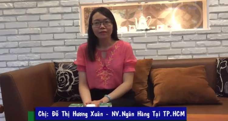 Hành trình tăng cân thành công của chị Hương Xuân