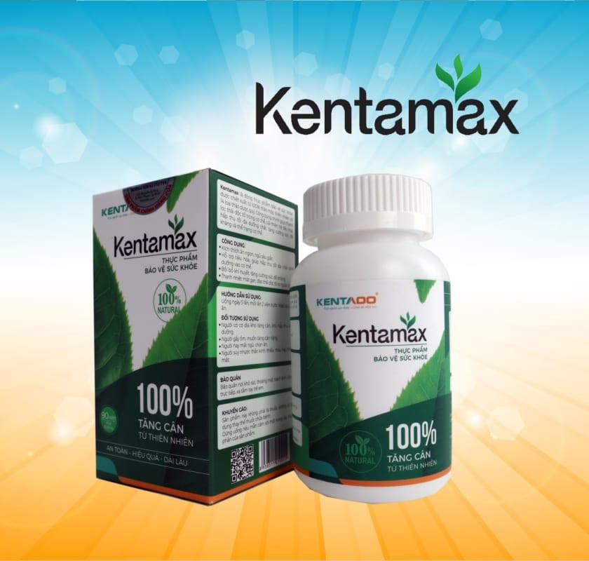 Kentamax - Sản phẩm hỗ trợ tăng cân hiệu quả