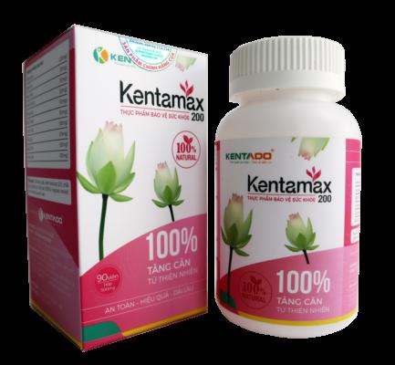 Kentamax 200 là sản phẩm hỗ trợ tăng cân hiệu quả an toàn