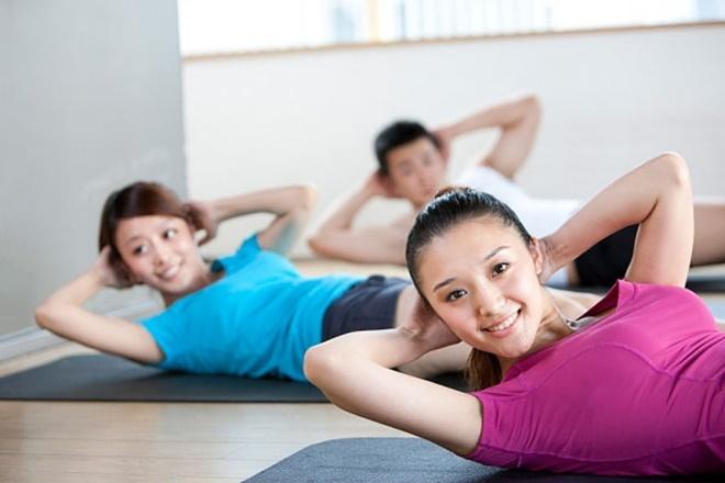 Rèn luyện sức khỏe hỗ trợ tăng cân nhanh chóng