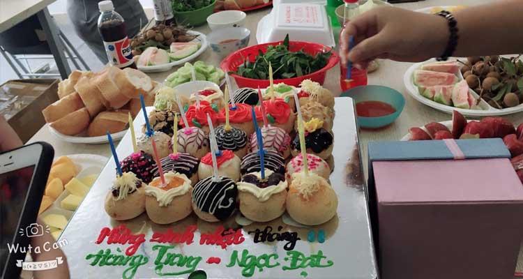 Bữa tiệc nhỏ cho những nhân viên có sinh nhật tháng 11
