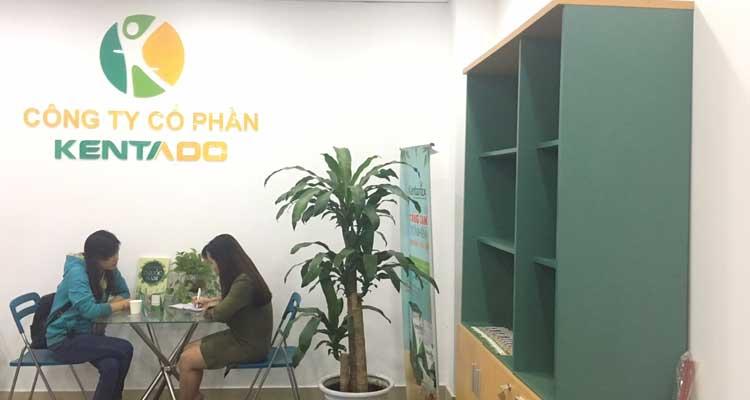 Tiếp đón chị Hoàng Dung tới văn phòng mua Kentamax