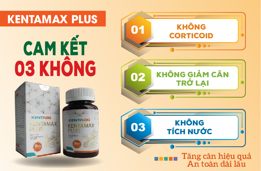 Su dung san pham ho tro tang can Kentamax Plus
