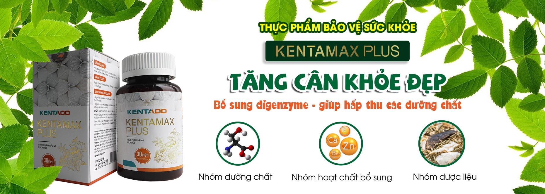Kentamax Plus - San pham ho tro tang can hieu qua va an toan