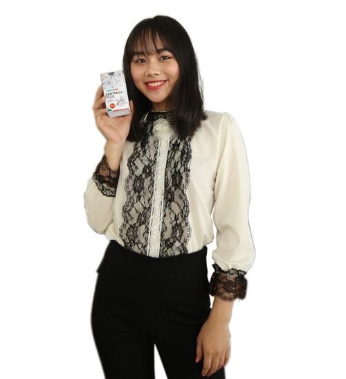Chị Trang cảm thấy vô cùng hạnh phúc vì đã tăng cân thành công, có công việc như mơ ước
