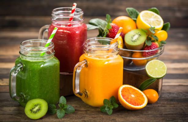 Nước ép trái cây là thực phẩm giàu calo tăng cân hoàn hảo
