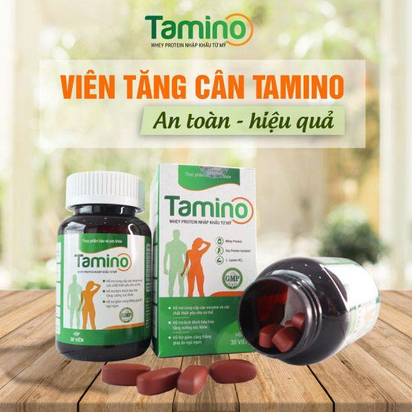 Tamino - Viên uống Tăng cân Thảo dược